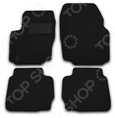 Комплект ковриков в салон автомобиля Novline-Autofamily Lexus RX450h 2012 кроссовер. Цвет: черный