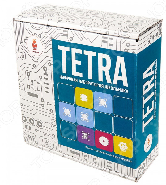 Конструктор электронный Амперка Tetra конструктор конструктор амперка матрешка y iskra