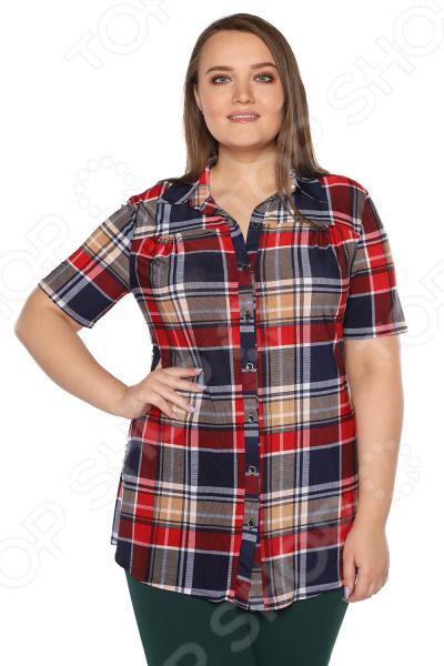Рубашка Полное счастье «Разнообразие». Цвет: красный lacywear s 1 stc