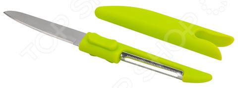 Овощечистка Regent Linea Promo 94-3703 нож для пиццы regent inox linea promo 94 3705