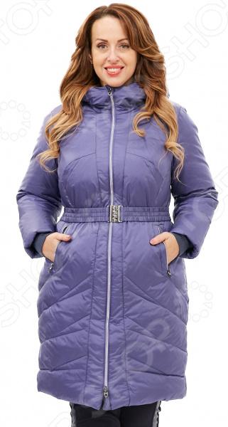 Пальто D`imma «Лина». Цвет: синий