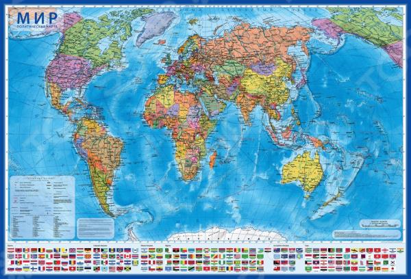 Карта настенная Globen 4680009931640