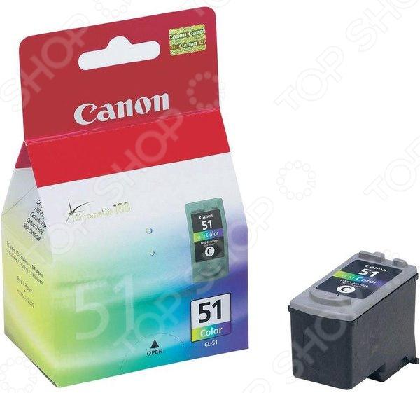 Картридж струйный Canon CL-51 цена