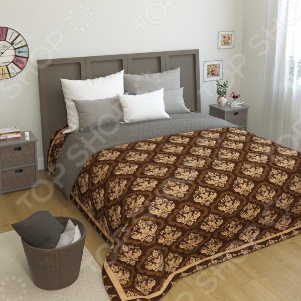 Покрывало стеганое Сирень «Барсекко» желтое покрывало на кровать