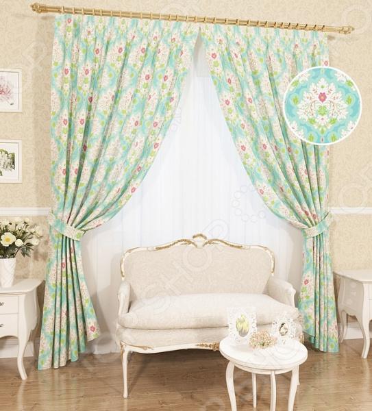 Комплект штор Сирень «Ронелли» комплект штор с покрывалом для спальни в москве