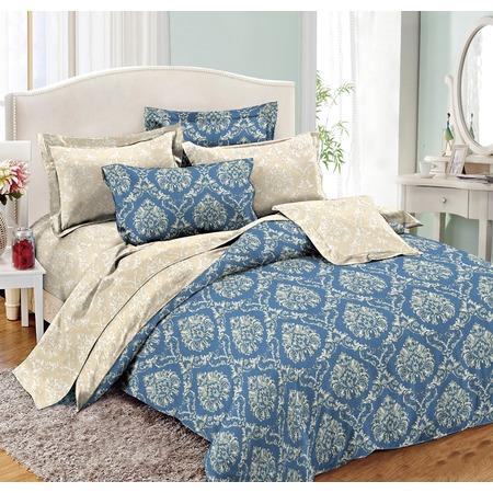 Комплект постельного белья Cleo 009-PE. Евро
