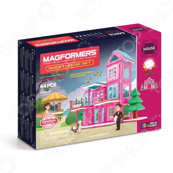 Конструктор магнитный Magformers Sweet House Set