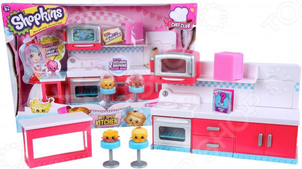 Игровой набор с фигурками Moose «Веселая кухня»