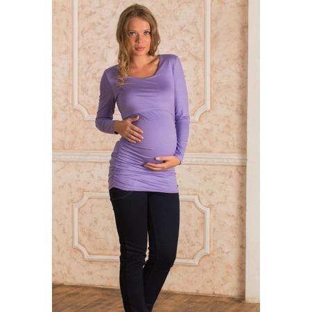 Купить Кофта для беременных Nuova Vita 1396.4. Цвет: лиловый
