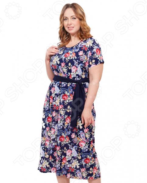 Платье Лауме-стиль «Ярина». Цвет: красный