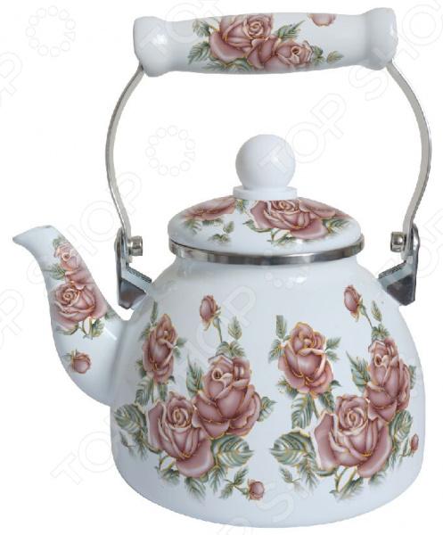 Чайник эмалированный Mercury MC-6543 цена и фото