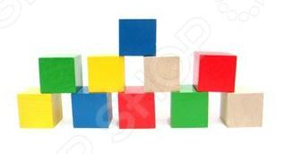 Кубики развивающие RNToys цветные clever развивающие игры для любознательных малышей