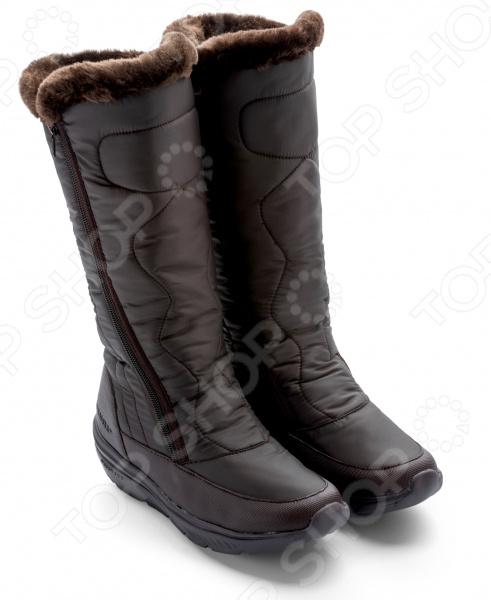Зимние ботинки высокие женские Walkmaxx COMFORT 2.0. Цвет: коричневый