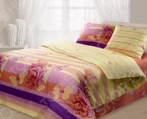 Комплект постельного белья Гармония «Баттерфляй». 1,5-спальный