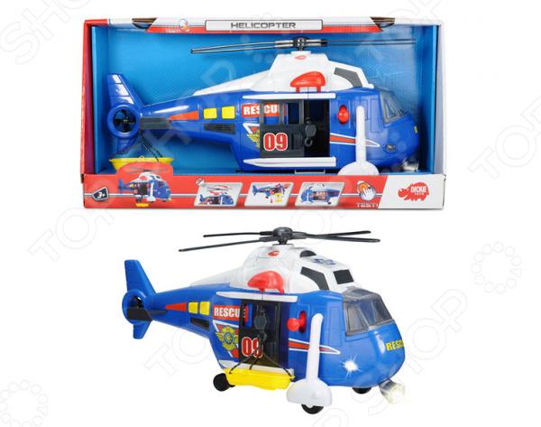 Вертолет игрушечный Dickie функциональный вертолет игрушечный brio 33797