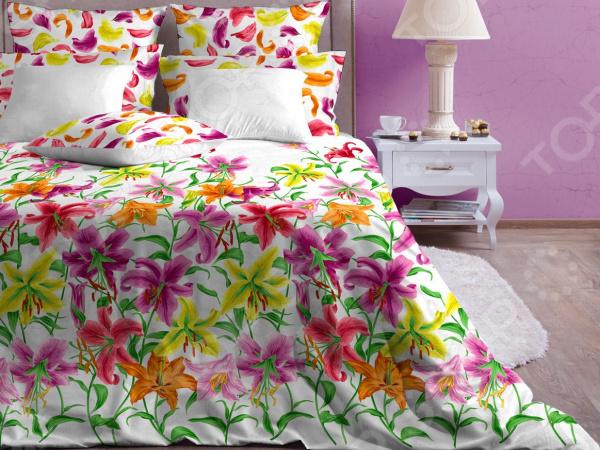 Комплект постельного белья Хлопковый Край «Лион» 5611/2 комплект постельного белья хлопковый край лион 5611 2