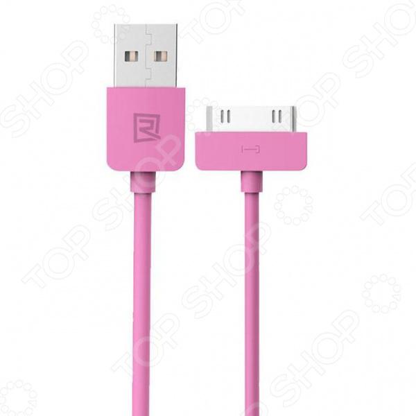 Кабель REMAX Light Cable для iPhone 4 чехлы для телефонов remax чехол силиконовый apple iphone 7 4 7 remax waves синий