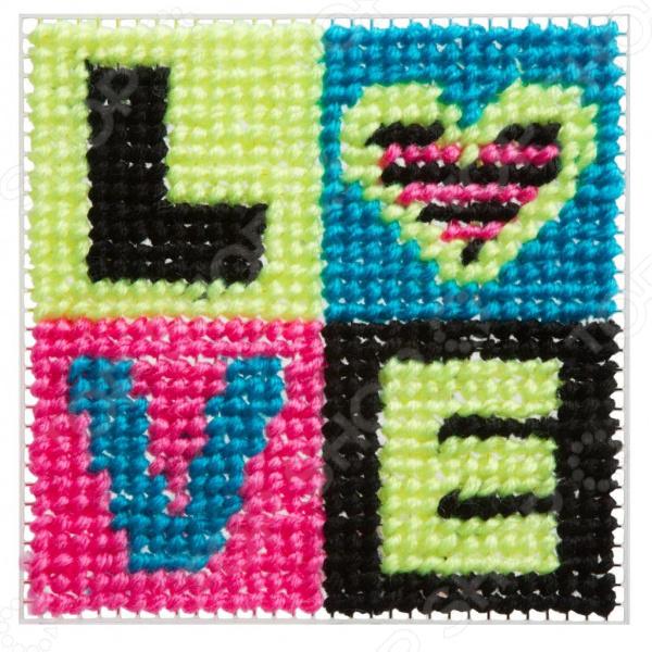 Набор для вышивания детский Alex «Любовь»