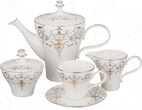 Сервиз чайный Lefard 766-041 сервиз чайный lefard 766 046