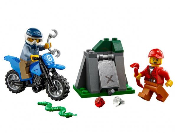Конструктор игровой LEGO City «Погоня на внедорожниках» кирилл шелестов погоня