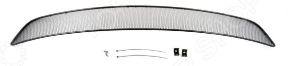 Сетка на бампер внешняя Arbori для Infiniti QX70, 2012. Цвет: черный бампер jc sportline infiniti