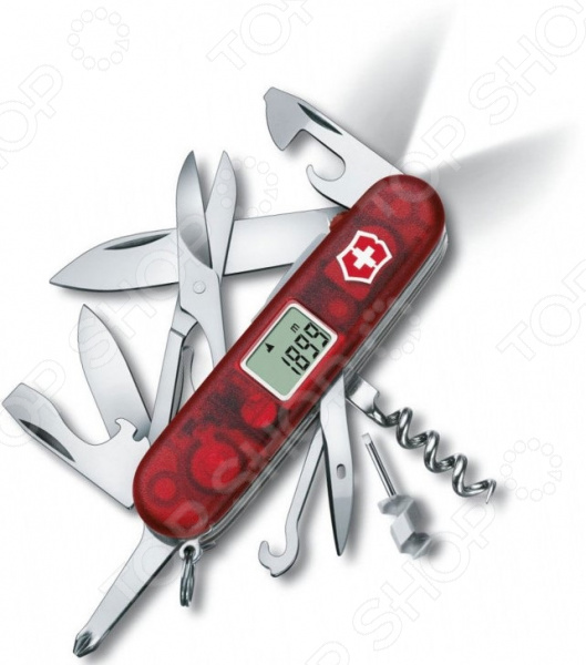 все цены на Нож перочинный Victorinox Traveller Lite 1.7905.AVT онлайн