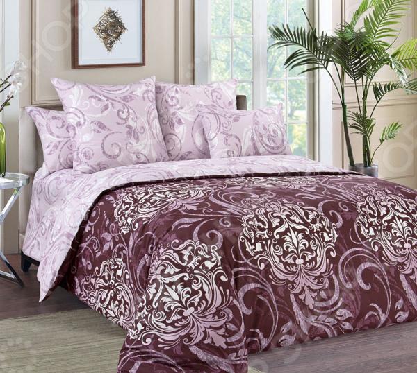 Комплект постельного белья Королевское Искушение «Гранд». Тип ткани: перкаль. Семейный