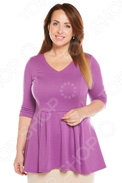 Блуза Матекс «Николь». Цвет: сиреневый блуза матекс радость солнцу цвет красный