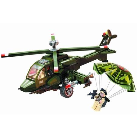 Купить Игровой конструктор Brick «Вертолет» 818