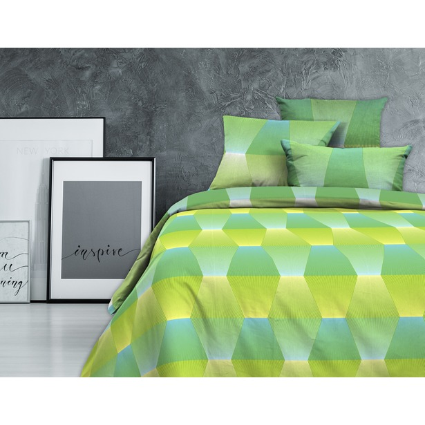фото Комплект постельного белья Wenge Lime Rock.1,5-спальный