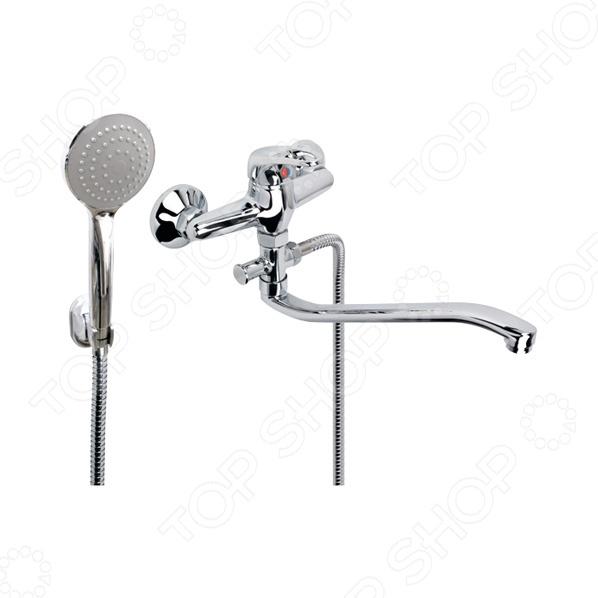 Смеситель для ванны и умывальника с высоким изливом Argo Young система душевая argo young 35 06 c