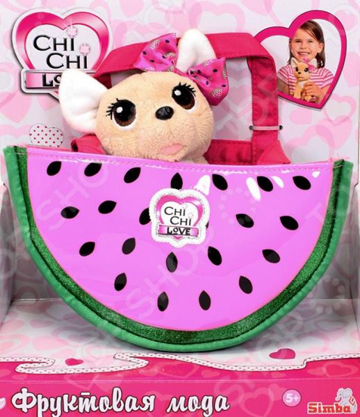 Мягкая игрушка Simba CHI CHI LOVE «Фруктовая мода» chi chi love мягкая игрушка фруктовая мода