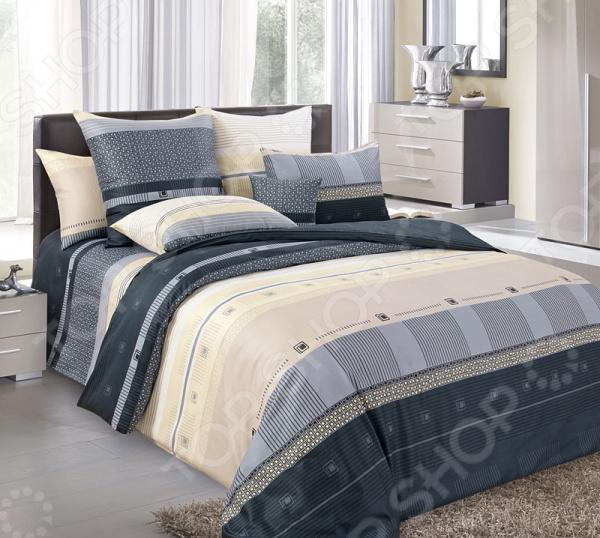 цена Комплект постельного белья Королевское Искушение «Мишель». Тип ткани: сатин онлайн в 2017 году