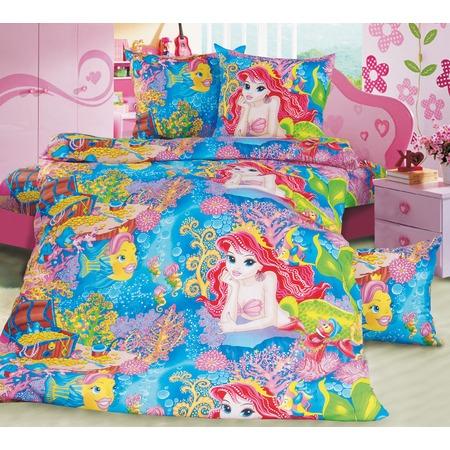 Купить Ясельный комплект постельного белья Бамбино «Морская сказка»