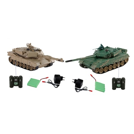 Купить Набор на радиоуправлении Yako «Танковый бой. ZTZ-96A против M1A2»