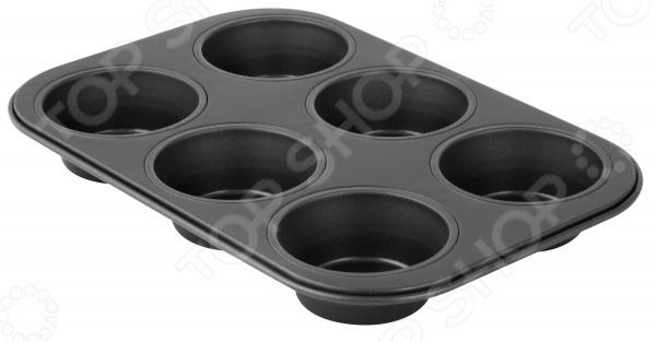 Форма для выпечки кексов Fackelmann Black