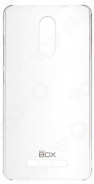Чехол защитный skinBOX 4People Crystal для Xiaomi Redmi Note 3