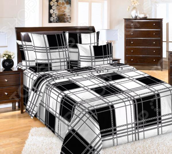 цена Комплект постельного белья ТексДизайн «Шерлок 1» онлайн в 2017 году