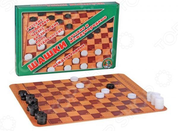 Набор для игры в шашки Десятое королевство 01068