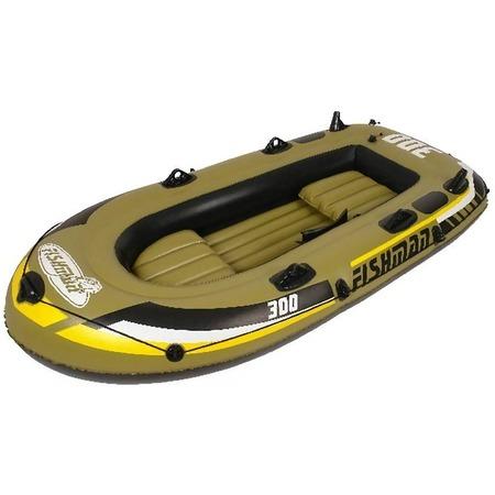 Купить Лодка надувная Jilong Fishman 300 Set