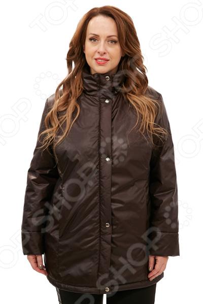Куртка СВМ-ПРИНТ «Тепло на двоих». Цвет: шоколадный