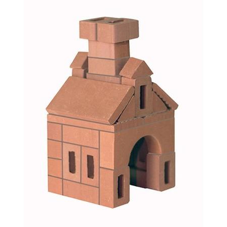 Купить Конструктор из глины Brick Master «Кирпичики. Избушка»