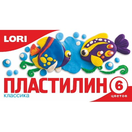 Купить Набор пластилина Lori «Классика» Пл-005