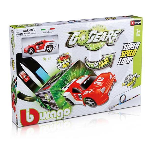 фото Набор игровой для гонок Bburago с машинкой «Скоростная петля»