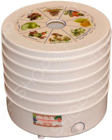 Сушилка для овощей и фруктов Минутка СШ-008 сушилка для овощей и фруктов ротор сш 007 06 сш 007