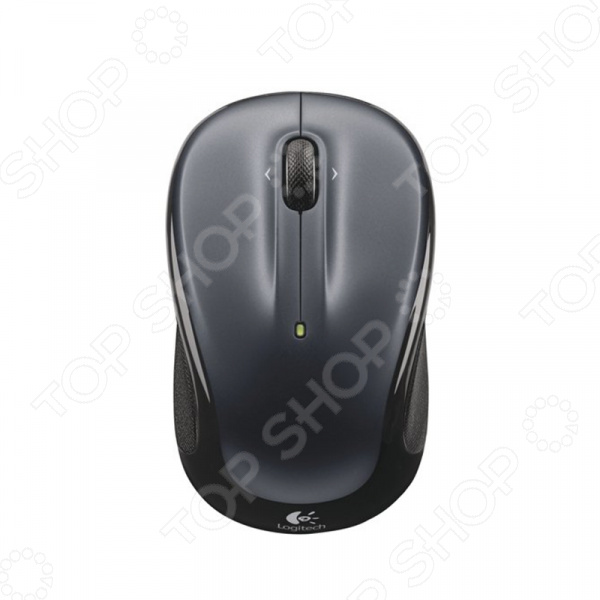 Мышь Logitech M325 Grey Wireless USB мышь hp k7w54aa grey usb k7w54aa
