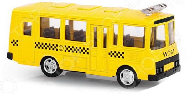 Машина инерционная PlaySmart «Автобус заказной»