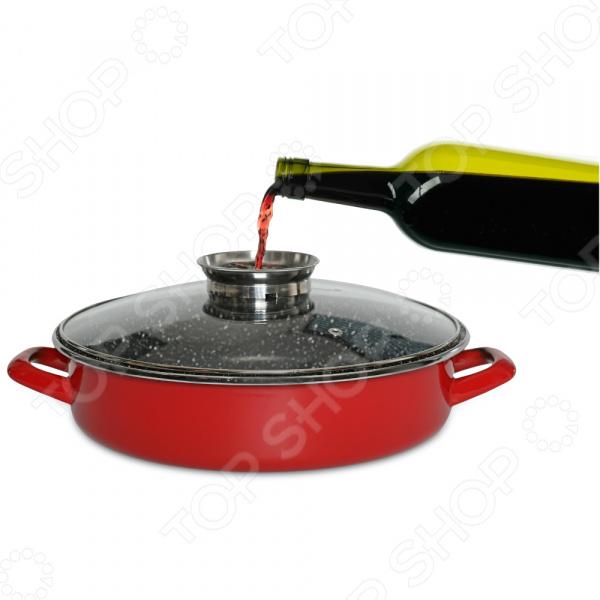 Крышка жаропрочная для духовки Delimano «Сила Камня». Размер: 28 см