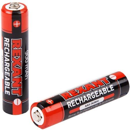 Набор батареек аккумуляторных Rexant 30-1409
