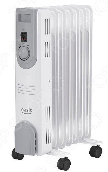 Радиатор масляный Oasis OS-15 масляный радиатор oasis bb 25t cерый
